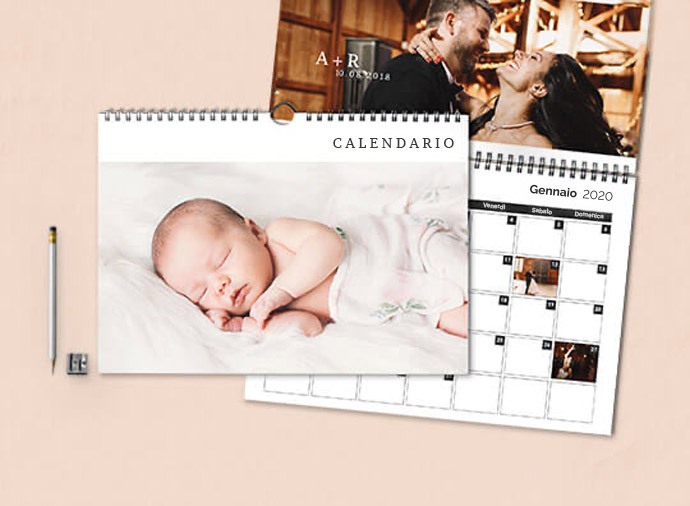 Calendari da parete doppio